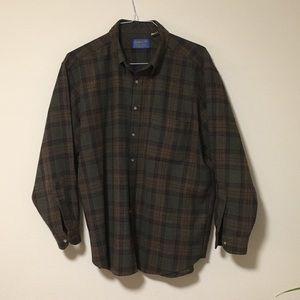 Pendleton 100% Wool, Plaid Men's XL.